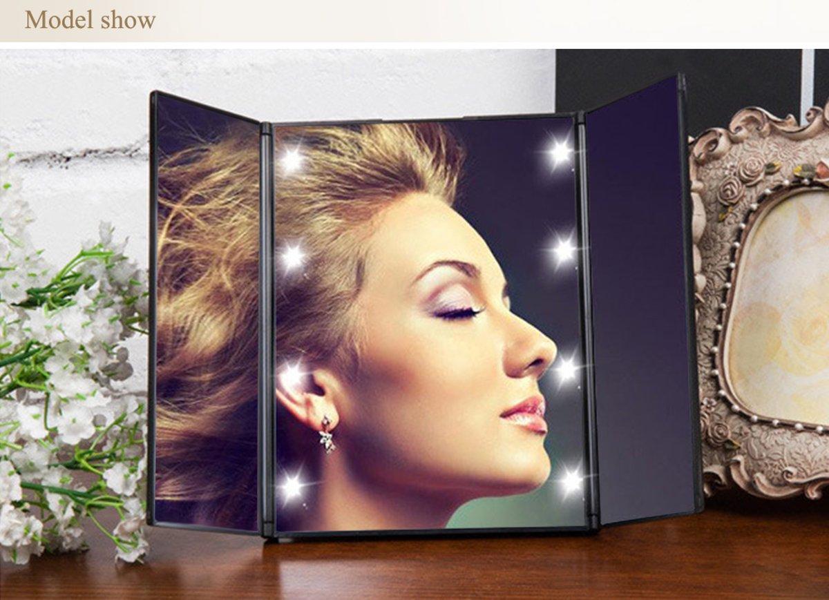 Led Lampen Kruidvat : Make up spiegel met verlichting kruidvat make up spiegel niimi