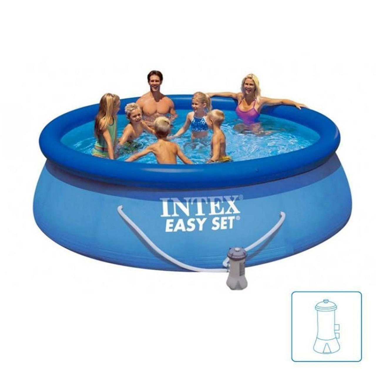 Pool Solarheizung Welche Pumpe Intex Easy Set 28122 Swimming Pool Set 305x76cm Planschbecken Mit