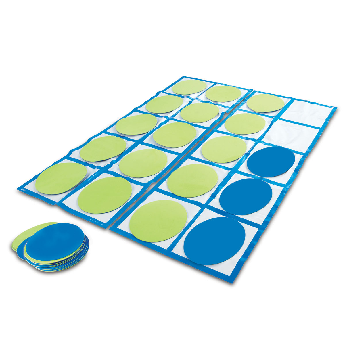 Large Frame Mat Ten Frame Floor Mat Activity Set By Learning Resources