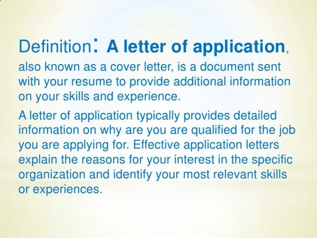Composing your NQT letter of application - Primary Practice