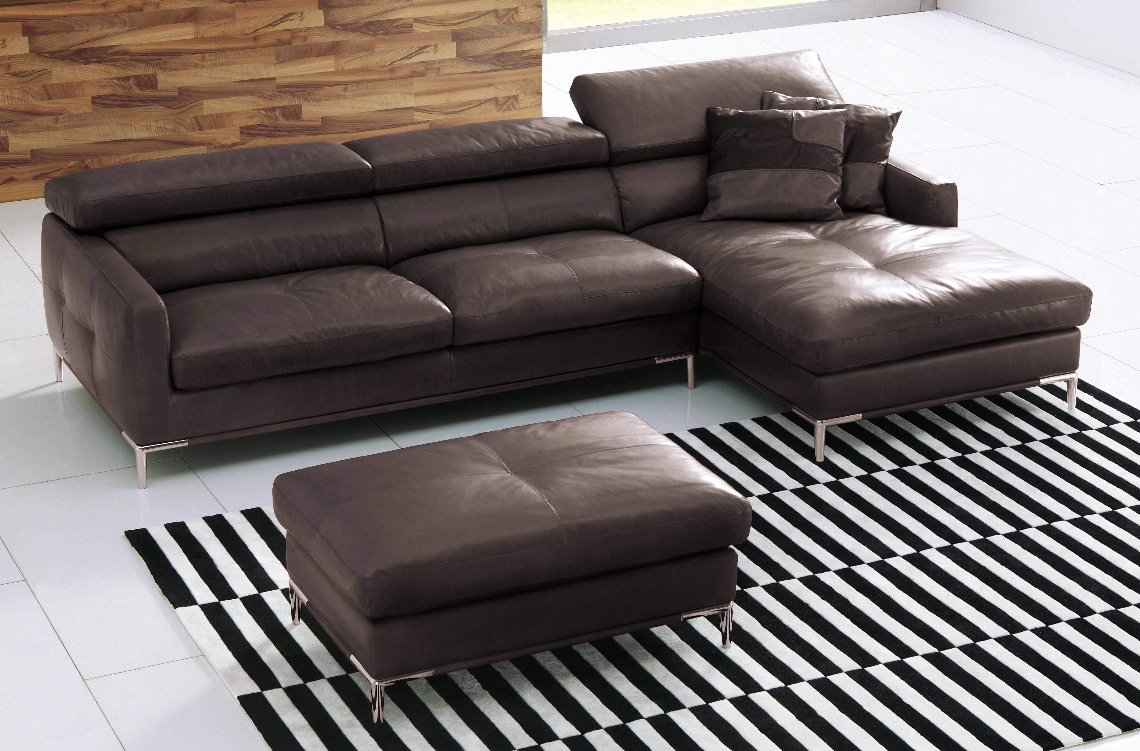 Garden Grove Sofa Elite Full Italian Leather L Shape Furniture With Pillows