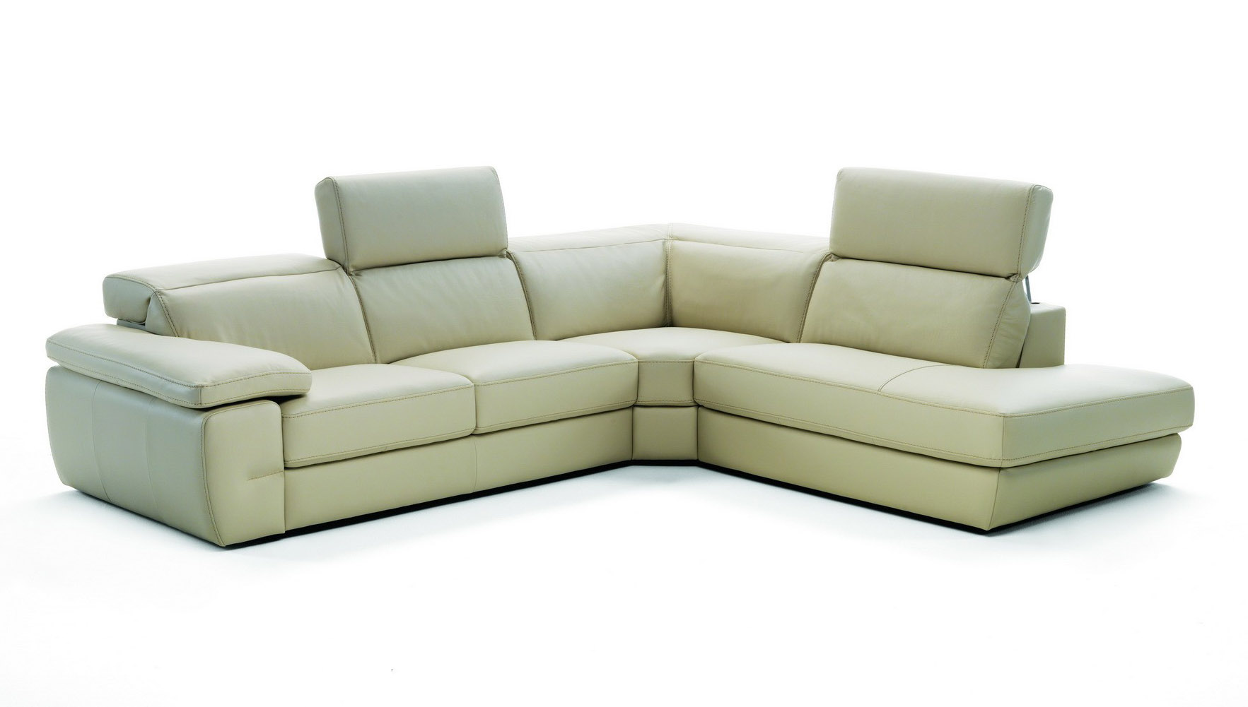 Industria Divani E Poltrone Elite Full Hand Wrapped Italian Leather Sectionals Boston