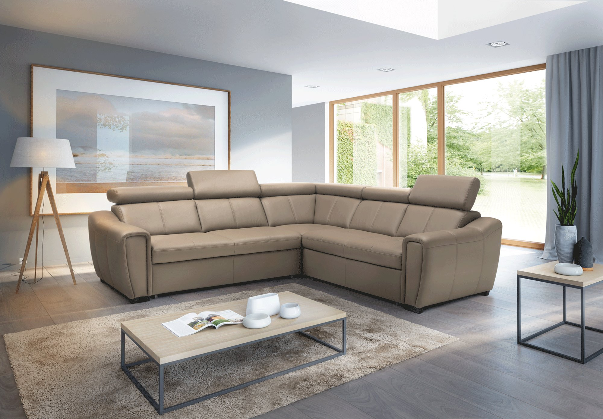 Genuine Leather Sectional Canada Luxury Covered In All Leather Sectional