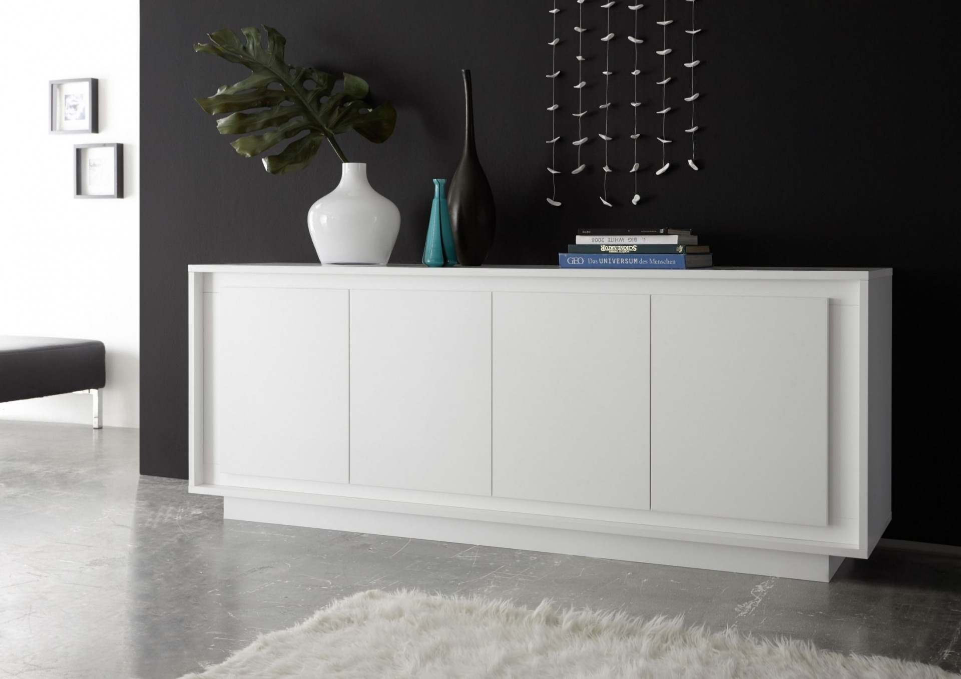 Exclusive Kommoden Contemporary Sideboard Buffet With Classic Design San
