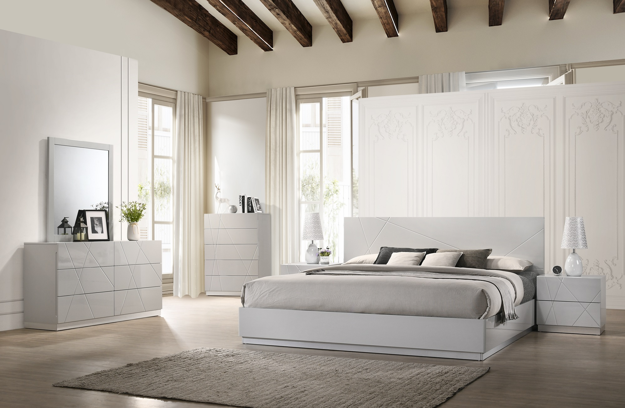 Exquisite Quality Contemporary Bedroom Sets Houston Texas