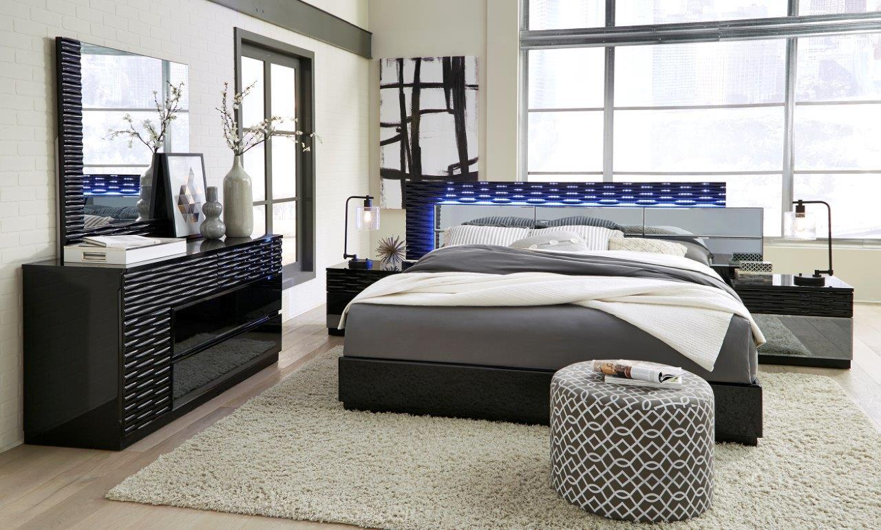 Modern Furniture Pictures Exclusive Quality Luxury Bedroom Set San Diego California