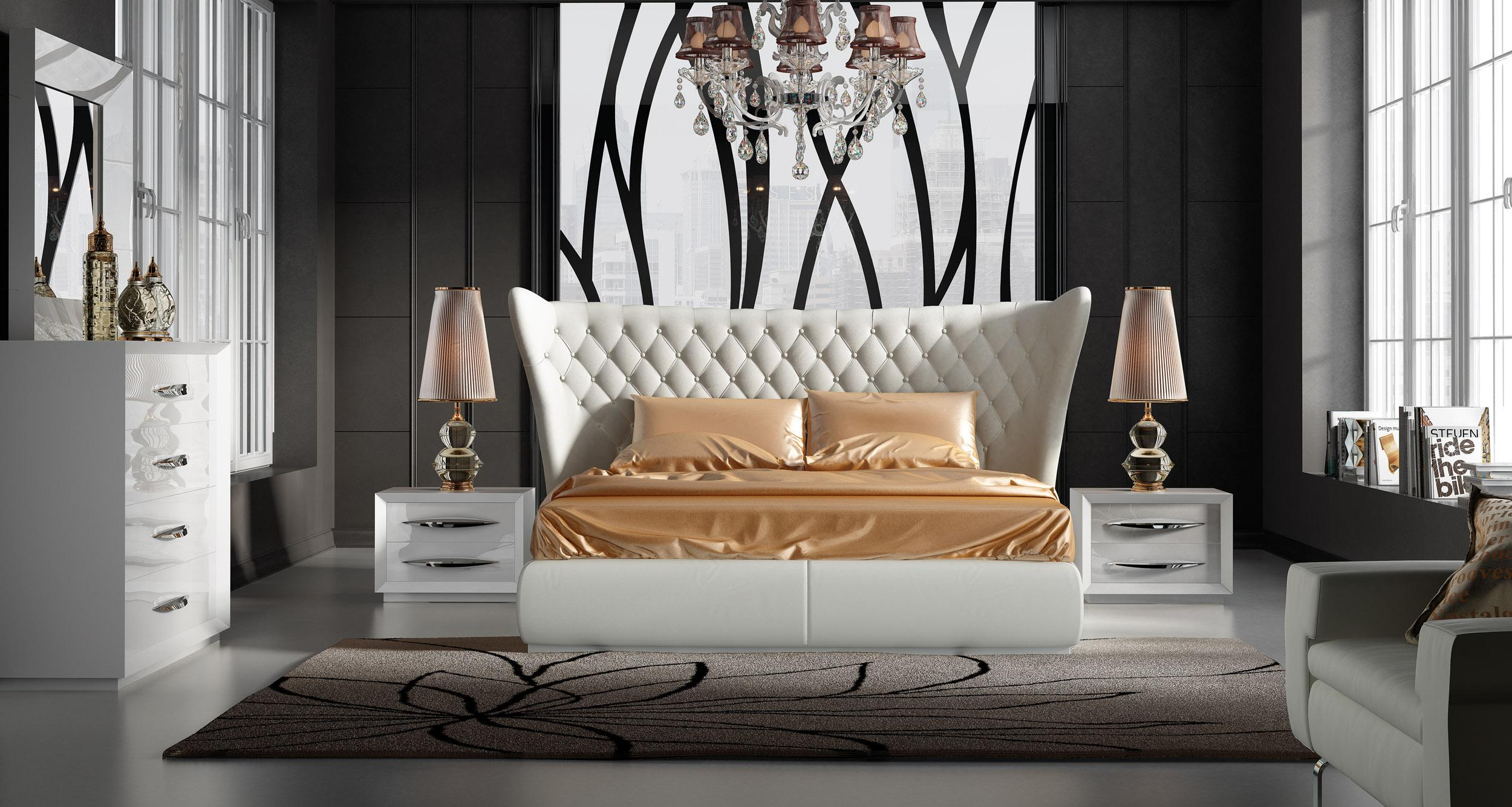 Stylish Furniture Stylish Leather Luxury Bedroom Furniture Sets