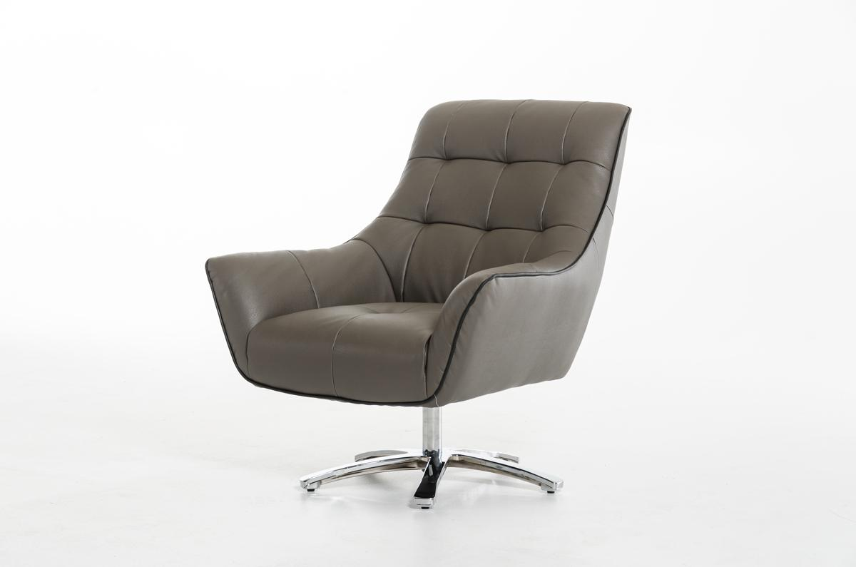 Comfy Room Chairs Eco Leather Lounge Chair With Chrome Frame And Color