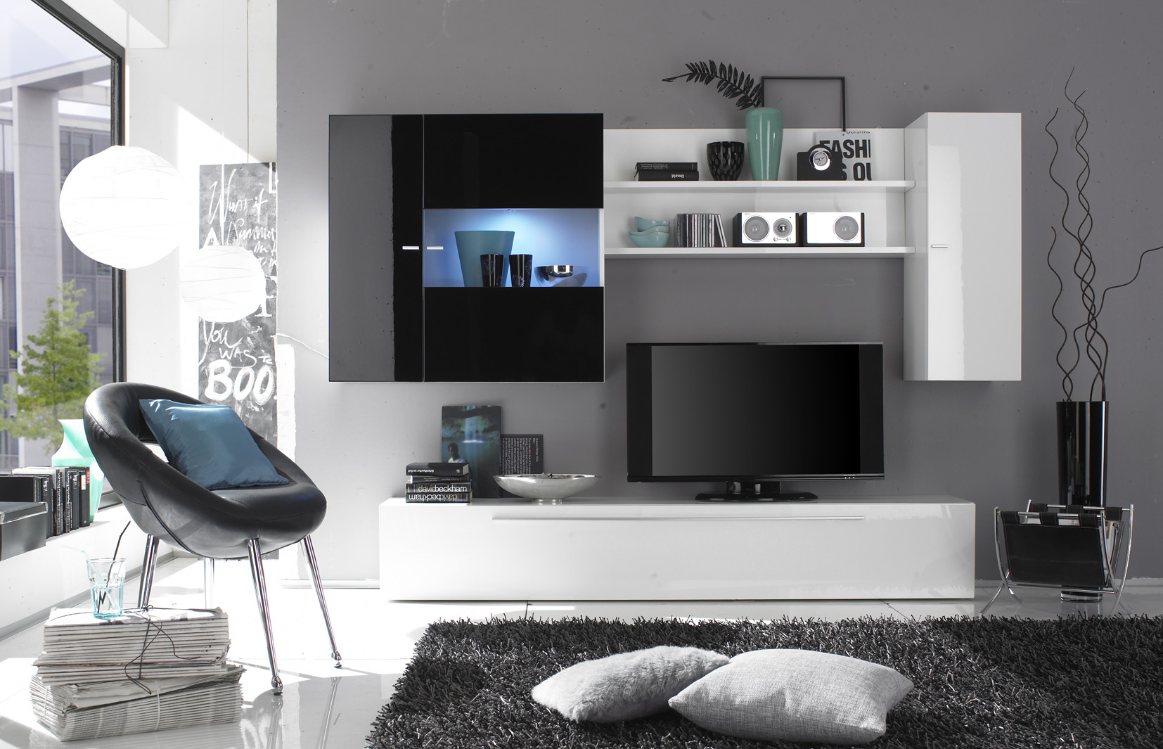 Large Wall Units For Living Room Shop Wall Units For Living Room Media Tv Cabinets