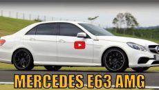 Avaliação em vídeo – Mercedes-AMG E63