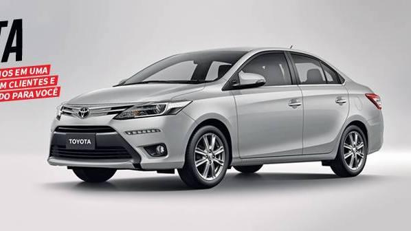Toyota terá novo sedã compacto em 2017 para concorrer com o Honda City