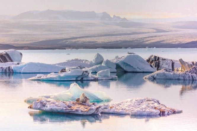 Lagoa Jokurlsalon Iceland Glaciar