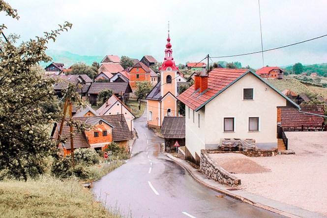 Vila na Bela Krajina, Eslovênia