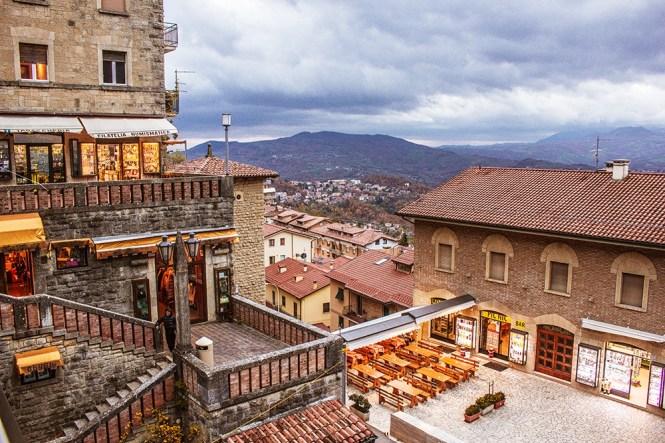 Vista de San Marino