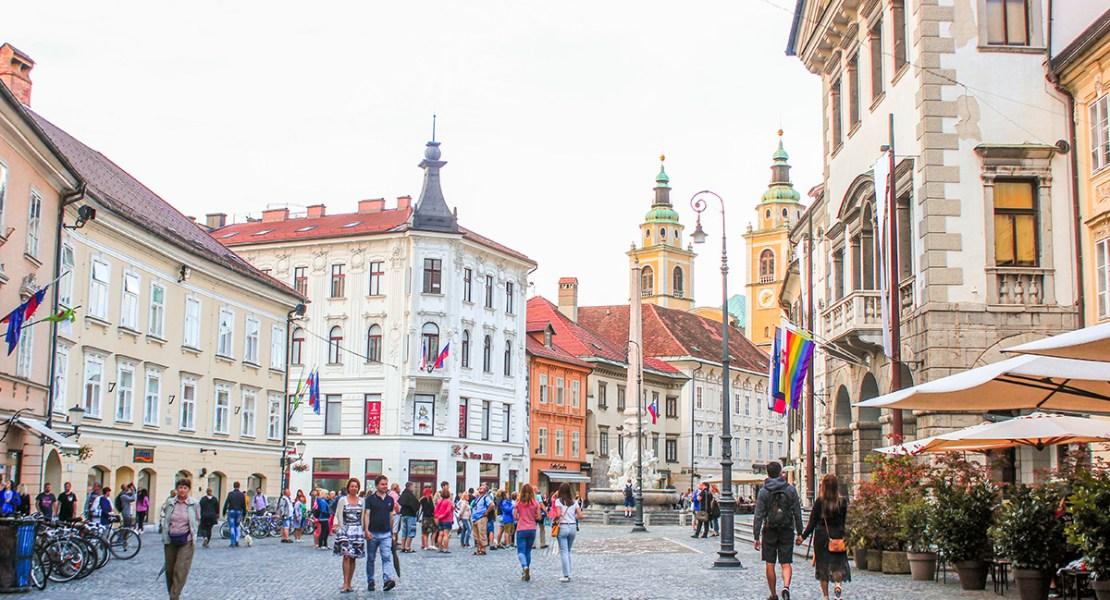 Liubliana - Centro Histórico