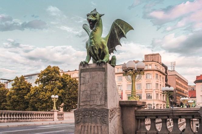 Liubliana_ Dragon Bridge