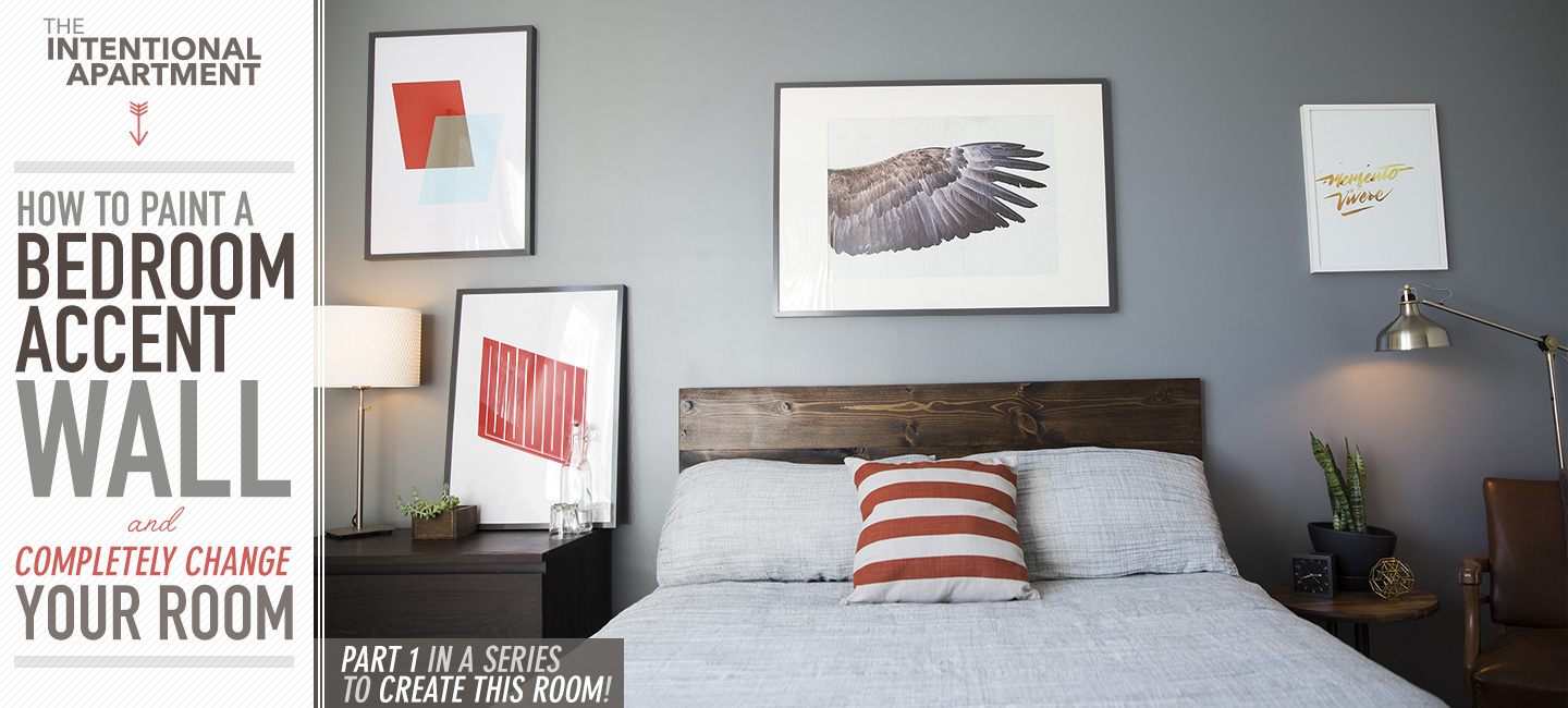 Accent Walls Paint Ideas How To Paint A Bedroom Accent Wall And Completely Change Your Room