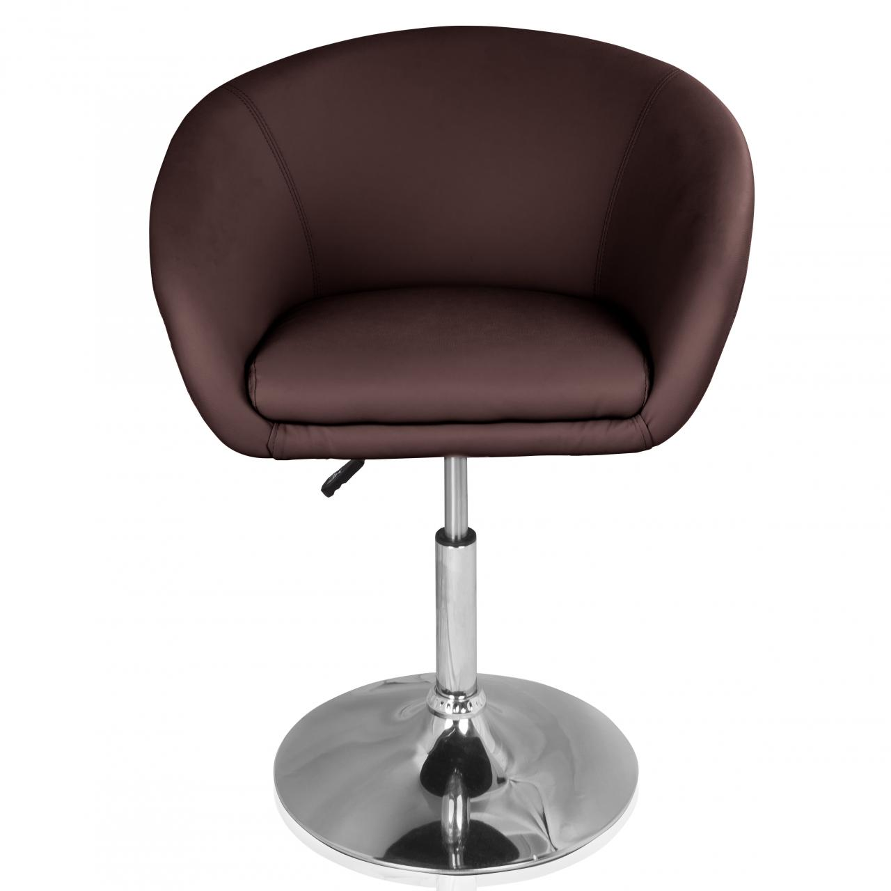 Cocktailsessel Leder Braun Cocktailsessel Loungesessel Clubsessel Barhocker Bar Disco