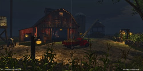 Prim Perfect Issue 52: September 2014: The Cornfield