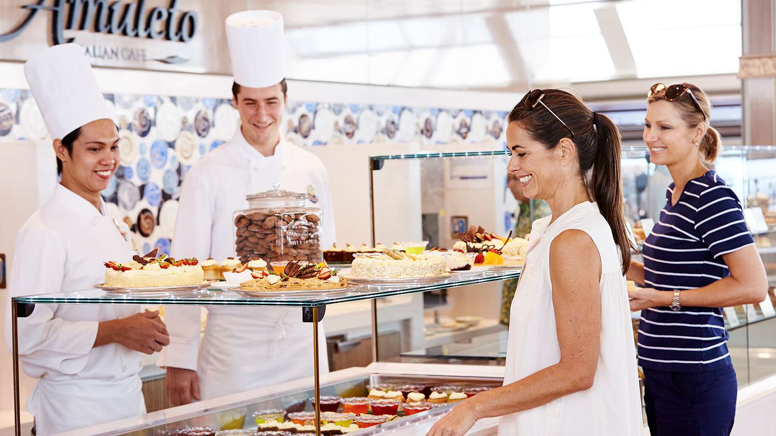 Buffet Fly Occasion Sun Princess Gastronomy