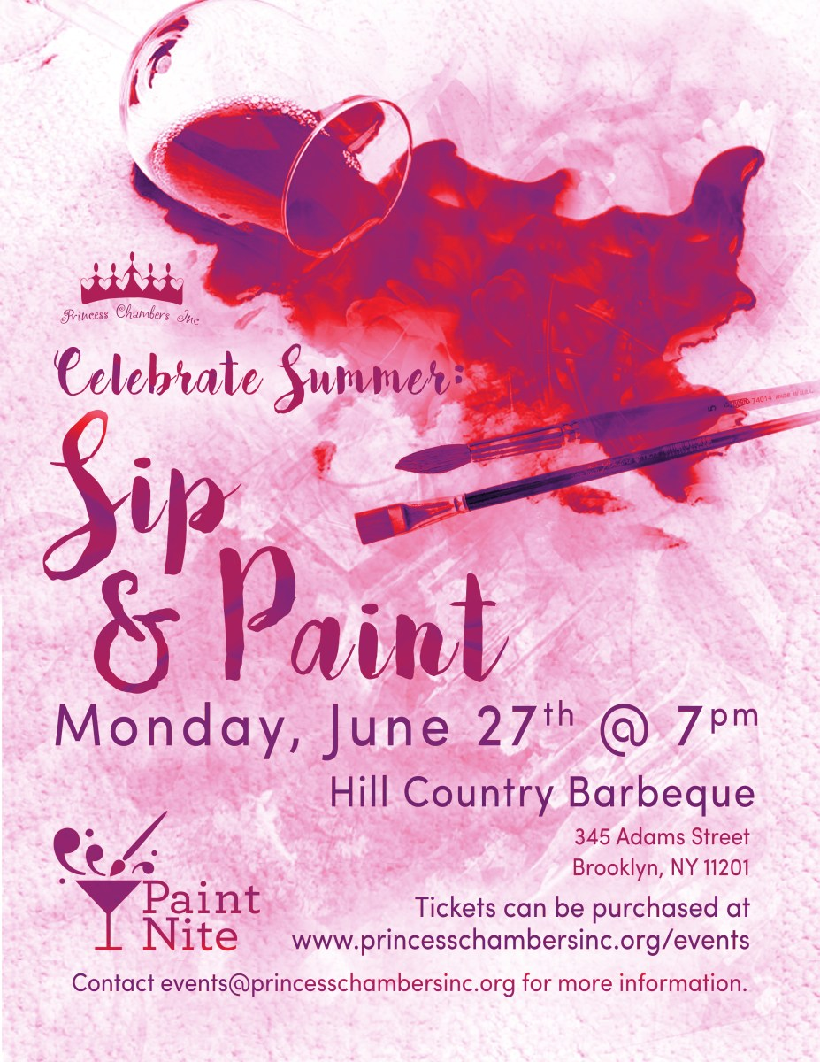sip and paint fundraiser  u2013 june 27  2016
