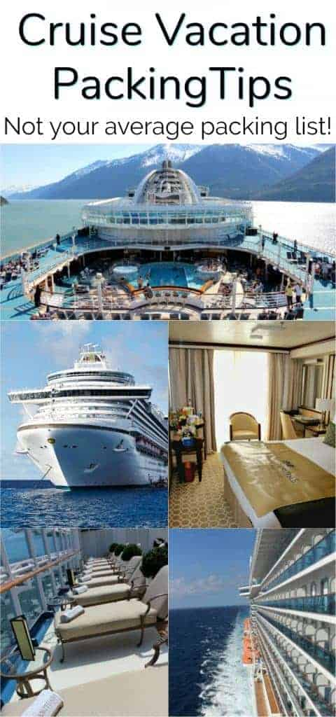 Cruise Packing - SO Smart - Things to Remember to Bring on Your - 7 day cruise packing list