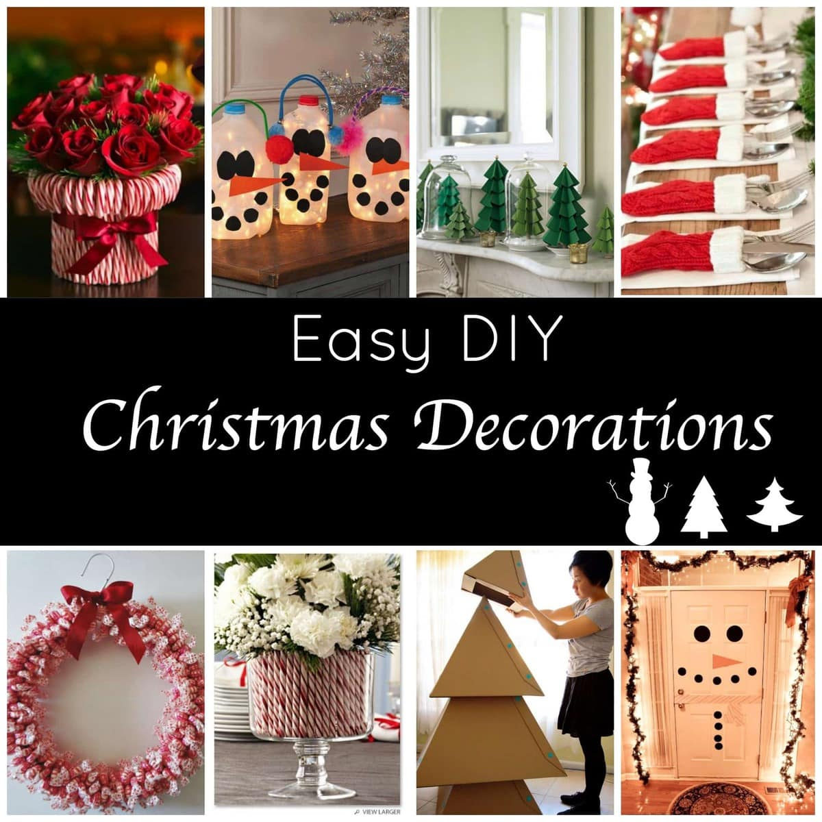 De Decoration Cute And Easy Diy Holiday Decorations For A Festive Home