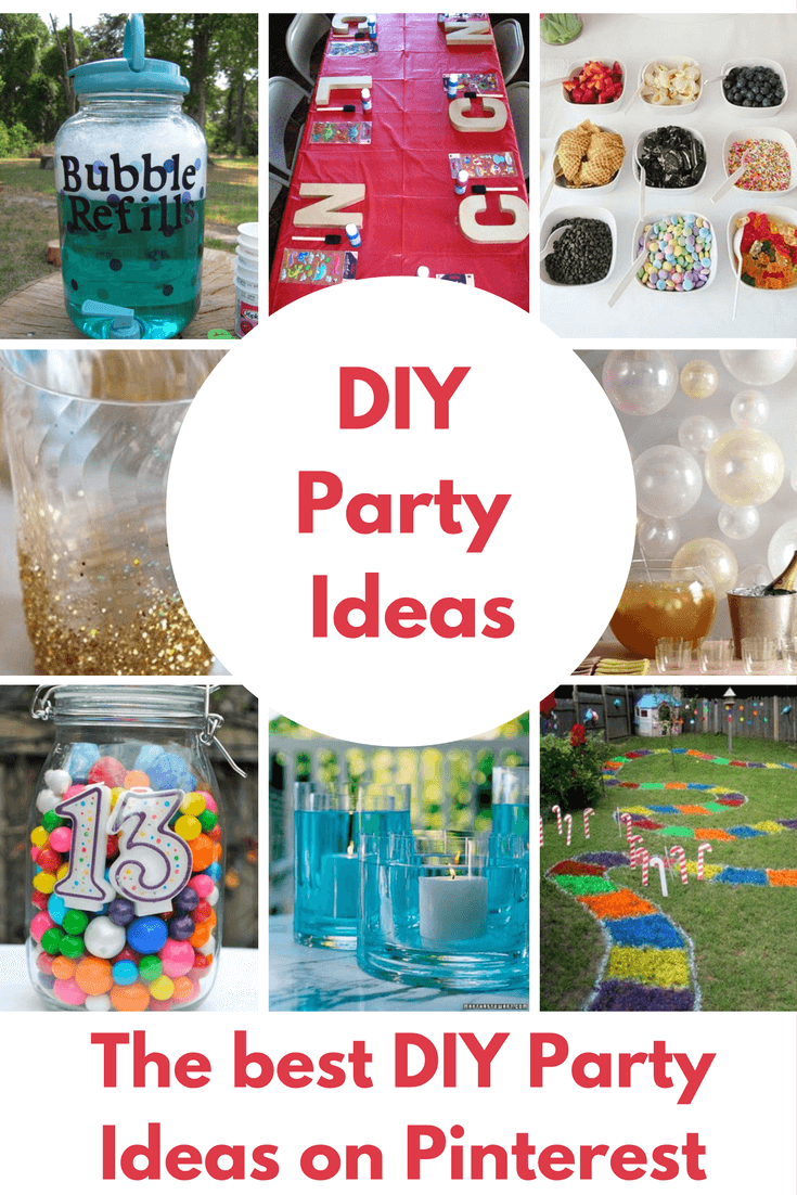 Diy Party Diy Birthday Party Ideas That Rule Princess Pinky Girl
