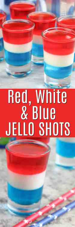 Winsome Red Blue Layered Jello Shots Layered Jello Shots Fourth Silicone Ms Blue How To Make Jello Shots Set Faster How To Make Jello Shots