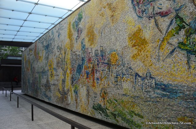 Chagall in Chicago Tiles