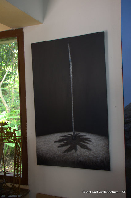 The painting I purchased from the Artist