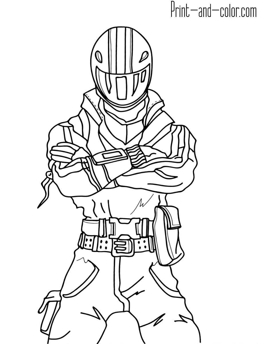 Fortnite Coloring Pages Arenda Stroy