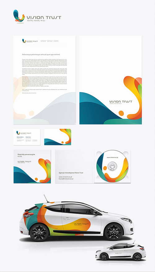 Corporate Identity u2013 55 examples of amazing Corporate Designs - proposal letter
