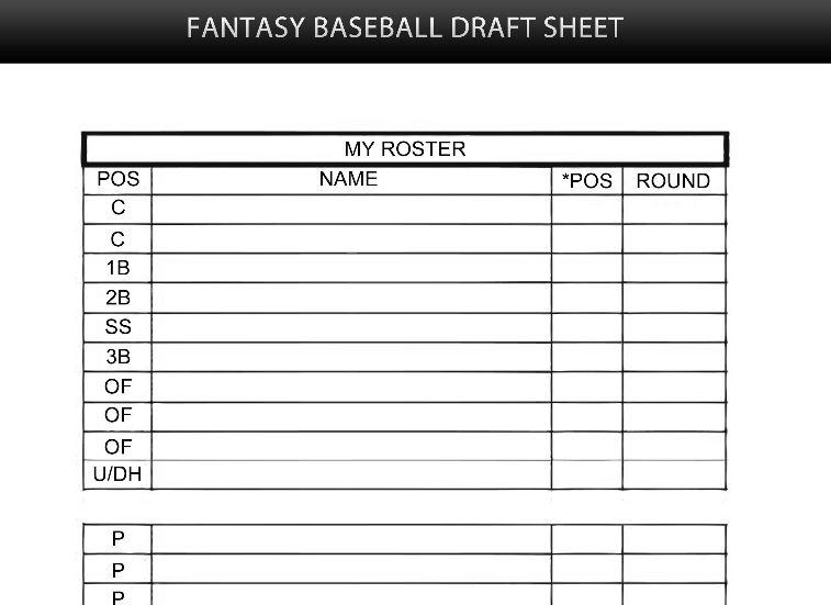Baseball Roster Template Doc 585535 Softball Score Sheet Template - blank roster