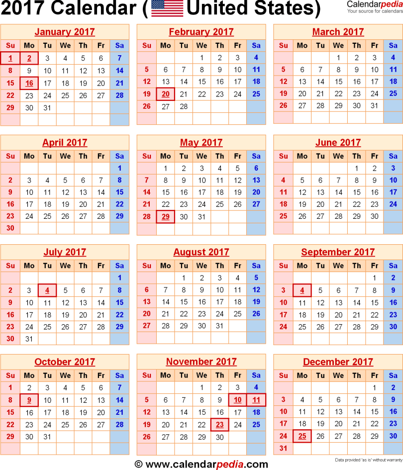 2017 Calendar USA Holidays , USA National Holidays, USA Holiday List 2017, US Holiday List