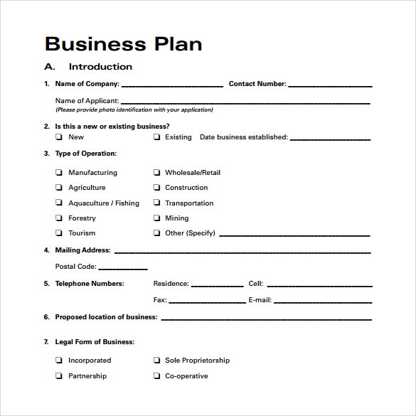 Business plan template proposal sample printable calendar templates sample business plan saigontimesfo