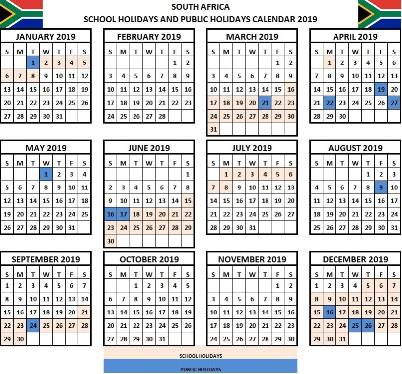 NSW School Holidays 2018 -19 Calendar