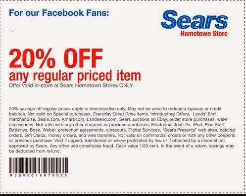 Printable Sears Coupons Printable Coupons Online
