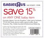 Babies R Us Coupon Code