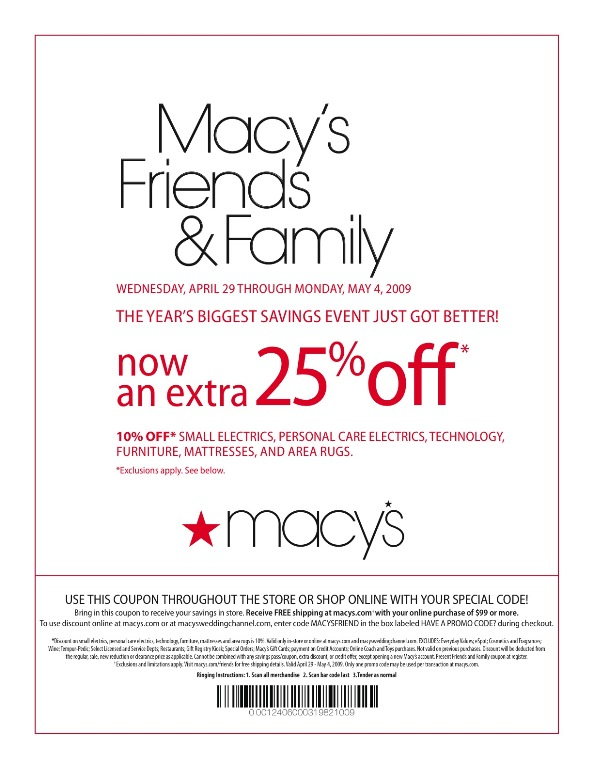 Macys Printable Coupons Online Printable Coupons Online