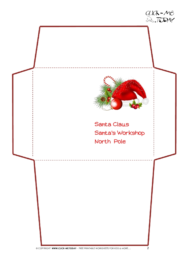 Preschool Letter To Santa Template Image collections - Free