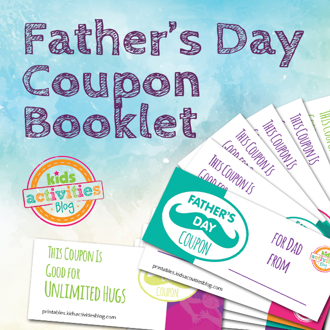 Father\u0027s Day Coupon Book Printable - The Printables Library - Coupon Book Printing