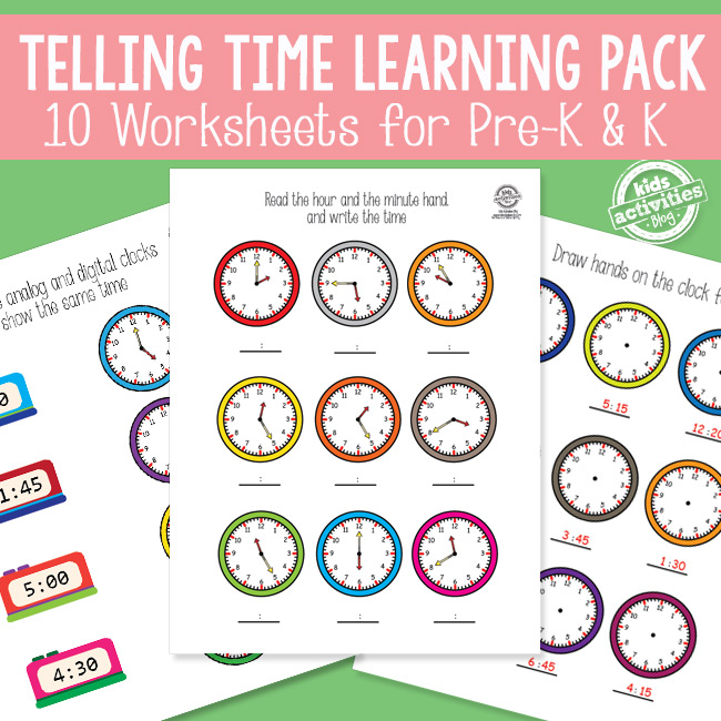 Telling Time Worksheets - The Printables Library - time worksheets