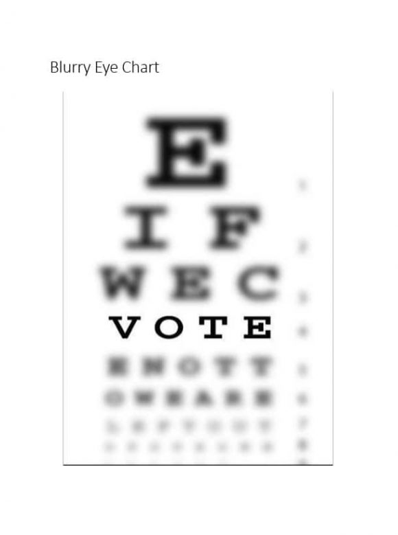 Eye Chart Templates - gauheo - eye chart template