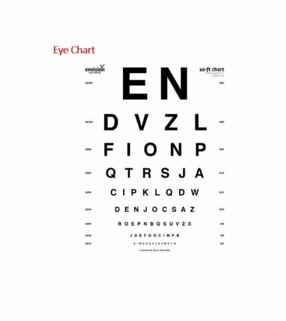 Eye Chart Template Image collections - chart graph examples - eye chart template