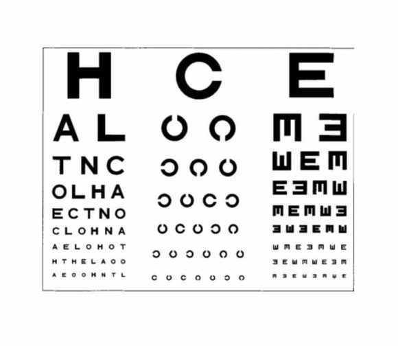 Eye Chart Template Image Gallery Of Ipa Eye Chart Ipa Ipa Eye Chart - eye chart template