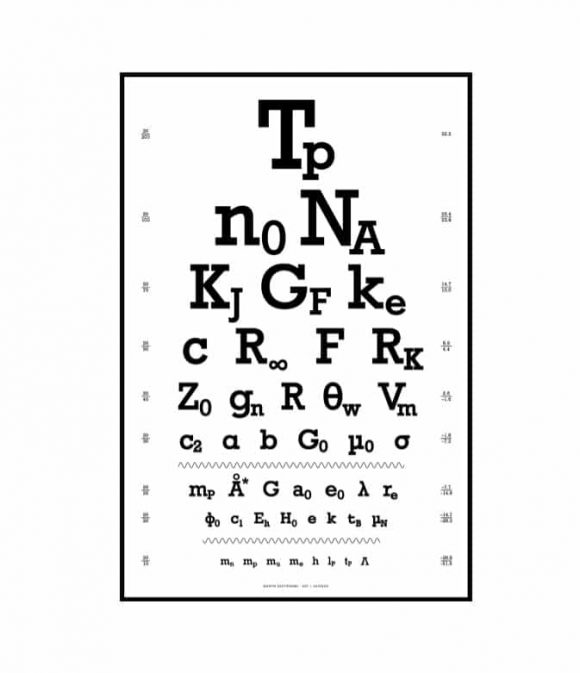Eye Chart Used By Ca Dmv - 7 best images of dmv eye chart vision - eye chart template