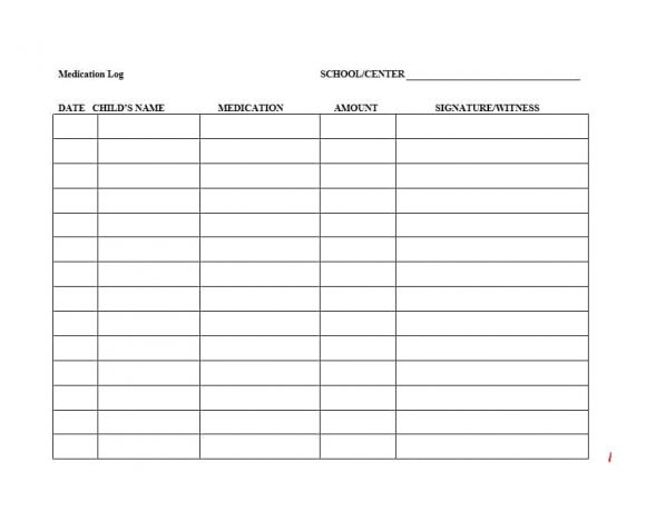 medication list form - Goalgoodwinmetals - Medication List Template Excel