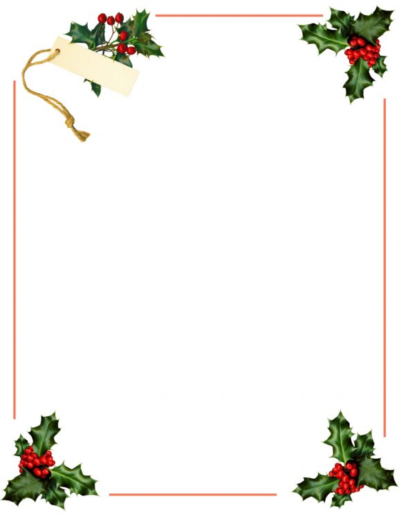 40+ FREE Christmas Borders and Frames - Printable Templates