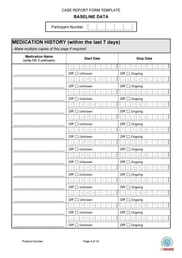 67 Medical History Forms Word, PDF - Printable Templates